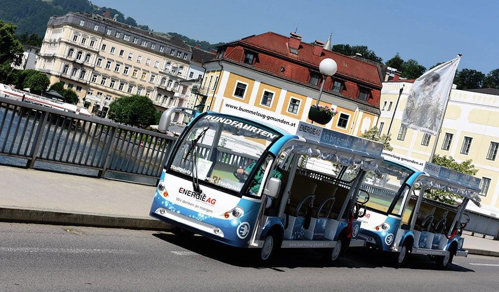 Parkliner from STS in Gmunden, Austria